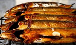 Копченая и соленая рыба